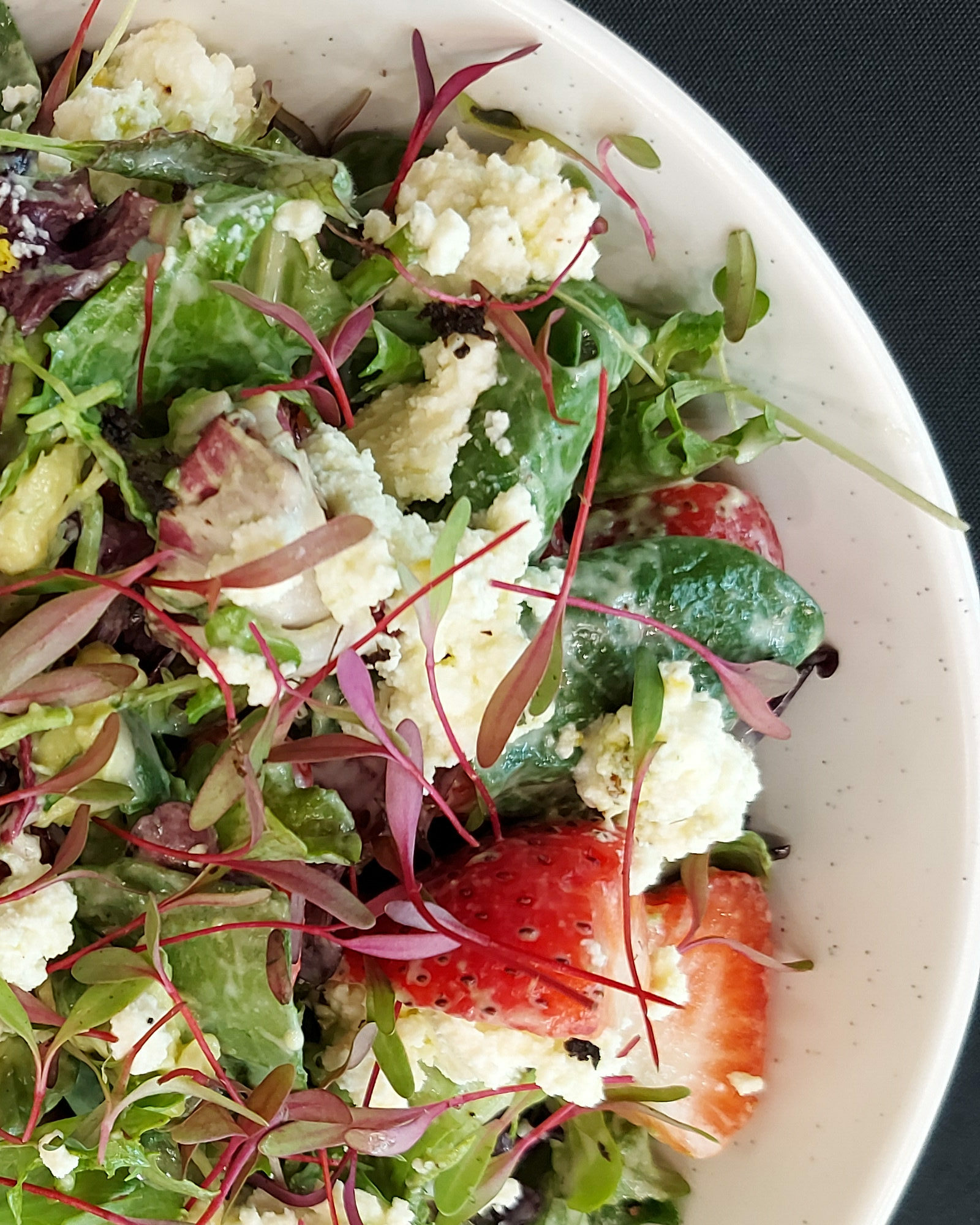 Strawberry Salad 1